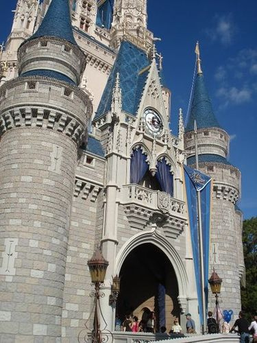 detalle castillo disney world
