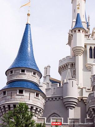 detalle torres castillo disney