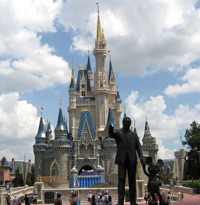 castillo disney world