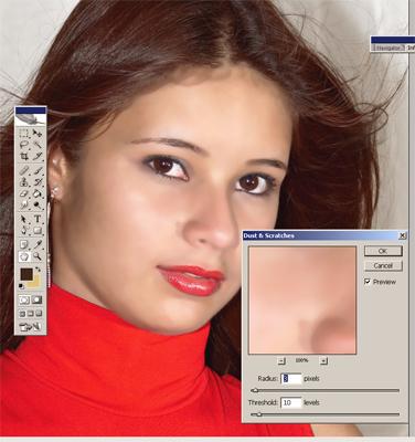 photoshop maquillaje