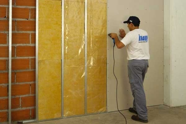 Aislante de calor para paredes