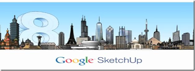 Descarga gratis Google SketchUp Pro 8.0.3117