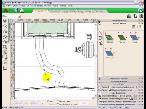 programa de diseño de jardines 3d