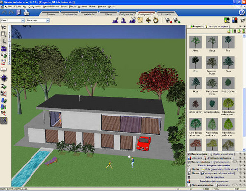 Programa de dise o de jardines 3d for Programa para hacer planos a escala