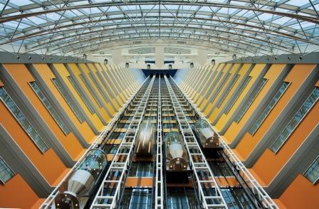 atrium- hotel dubai