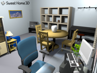 Download Sweet Home 3D 2.2 Portable
