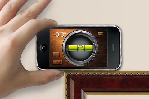 nivelador iphone