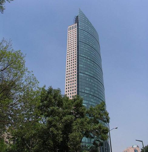 estructura sismica torre mayor