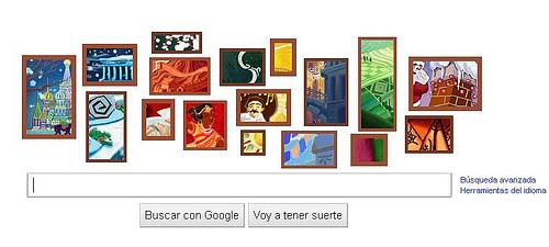 google logo navidad 2010