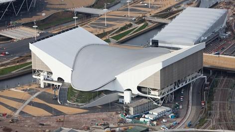 londres 2012 aquatic center