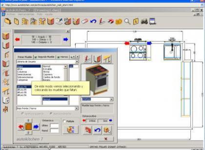 Autokitchen programa para el dise o de cocinas for Programa para diseno de muebles