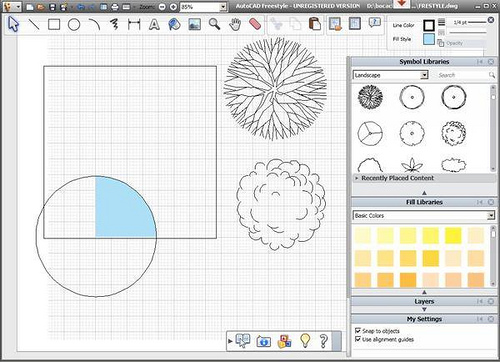 Autocad freestyle el nuevo programa de dibujo de autodesk - Programa para dibujar planos facil ...