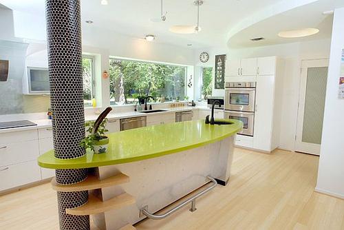 Espectaculares cocinas modernas - Cocinas rojas y blancas ...