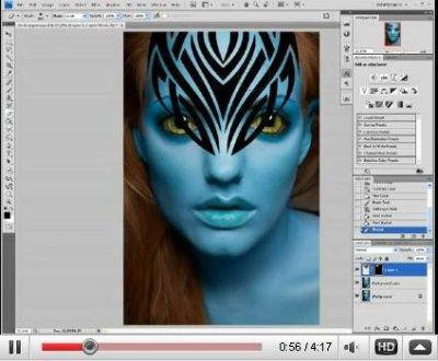 efecto avatar photoshop