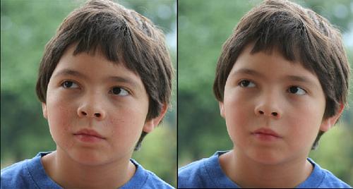 retoque rostro photoshop