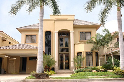 Casas de dos pisos ventajas arquigrafico Fachadas para casas de dos plantas