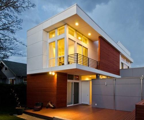 Casas de dos pisos ventajas arquigrafico - Casas de dos plantas sencillas ...