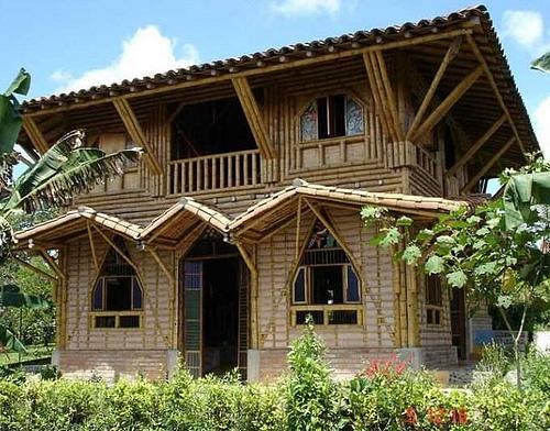 casa contruccion bambu