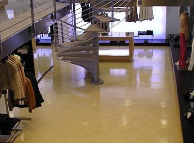 piso epoxico tienda