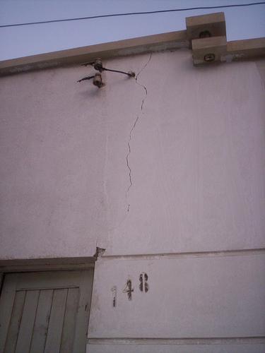 Patologia de la Construccion: Fisuras en Muros