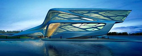 zaha hadid arquitectura futurista