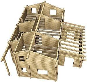 madera en construccion