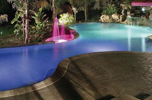 iluminacion piscinas