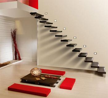 escalera con diseno minimalsita