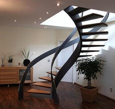 las escaleras flotantes pueden ser una buena eleccin para integrar en la decoracin de una casa pero por lo general las personas que tienen hijos
