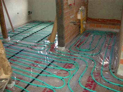 Calefacci n por suelo radiante la climatizacion mas - Instalacion suelo radiante ...