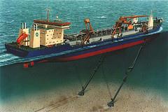 Tipos de Barcos Dragadores