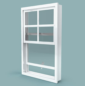 ventana de guillotina