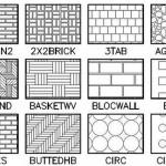 autocad hatchs pattern patrones gratis descarga