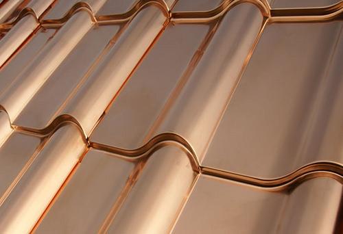 imagenes tejas de cobre