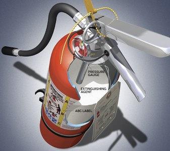 extintor de fuegos