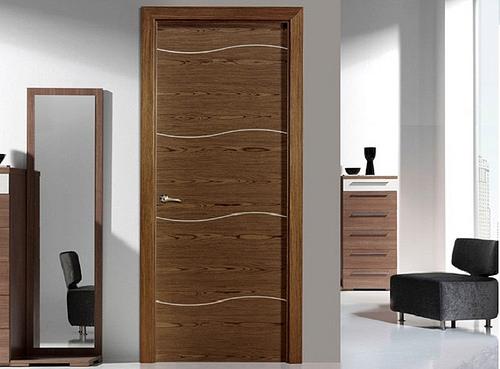 Puertas de interior modelos precios for Puertas de madera interiores minimalistas