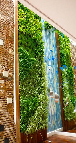 fotos de jardines verticales