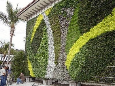 Jardines verticales instalacion mantenimiento - Muros verdes verticales ...