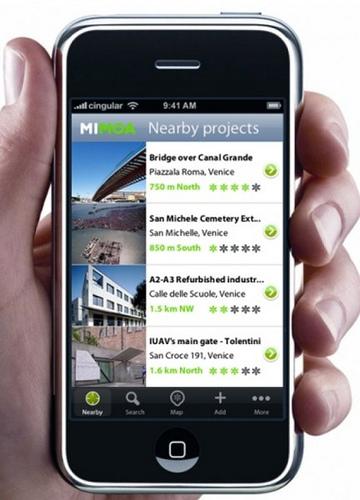 aplicaciones arquitectura iphone