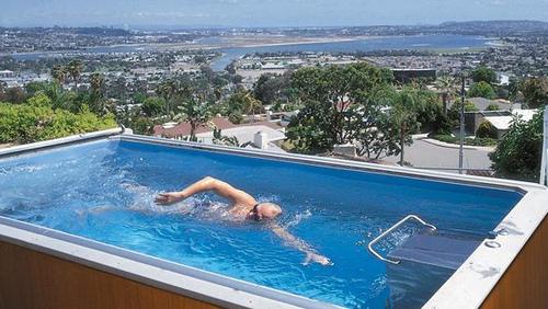 piscina para ejercicio