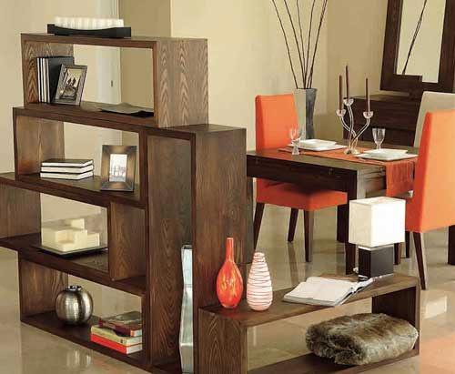 Maneras creativas de decorar utilizando separadores de - Muebles separadores de espacios ...