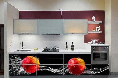 Vinilos decorativos para cocinas for Adhesivos decorativos para muebles
