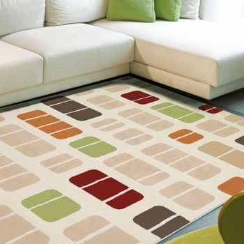 alfombra estampada