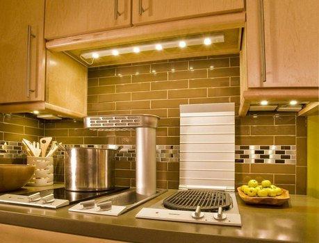 cocina bien iluminada
