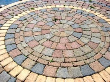 Tipos de pisos de piedra for Ladrillos decorativos para exteriores