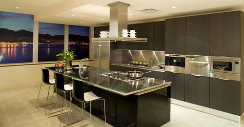 Espectaculares cocinas modernas - Cocinas espectaculares modernas ...