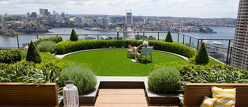 Techos Verdes – Un  jardín en la azotea