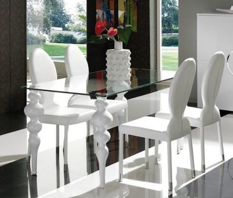 Consejos de como decorar un comedor peque o arquigrafico for Comedores pequenos de vidrio