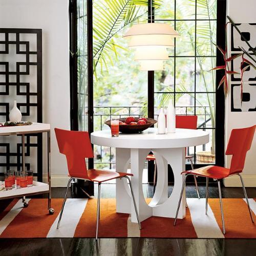 Consejos de como decorar un comedor peque o arquigrafico for Como amueblar un living comedor pequeno