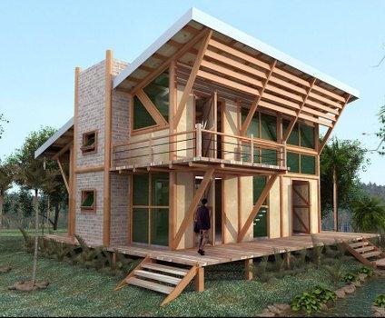 Im genes y fotos de casas ecol gicas arquigrafico - Casas ecologicas en espana ...